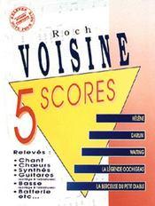 Roch Voisine ; 5 scores - Couverture - Format classique