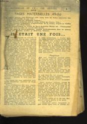 Fiches Maternelles Et C.P. : Une Histoire. - Couverture - Format classique