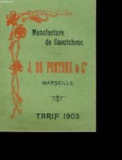 Manufacture De Caoutchouc - Couverture - Format classique