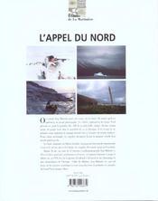 L'appel du nord - 4ème de couverture - Format classique