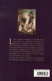 Fantômes et dames blanches en bretagne - 4ème de couverture - Format classique