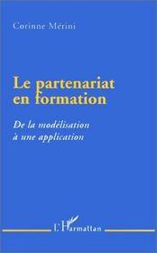 Le partenariat en formation ; de la modélisation à une application - Intérieur - Format classique