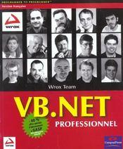 Wrox vb.net - Intérieur - Format classique