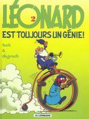 Léonard t.2 ; Léonard est toujours un génie - Intérieur - Format classique