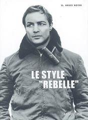 Le style rebelle - Intérieur - Format classique