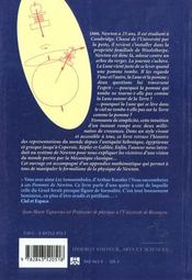 Les Pommes De Newton - 4ème de couverture - Format classique