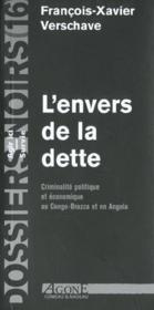 Envers De La Dette - Couverture - Format classique