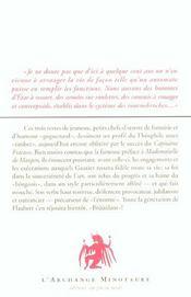 De L'Originalite En France - 4ème de couverture - Format classique