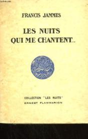 Les Nuits Qui Me Chantent. - Couverture - Format classique