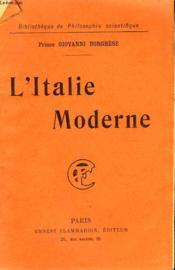 L'Italie Moderne. Collection : Bibliotheque De Philosophie Scientifique. - Couverture - Format classique