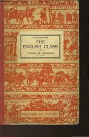 The English Classe - Classe De Troisieme - Couverture - Format classique