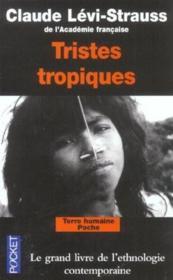 Tristes tropiques - Couverture - Format classique