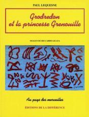 Grodredon et la princesse Grenouille - Couverture - Format classique