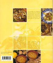 La cuisine du maghreb - 4ème de couverture - Format classique