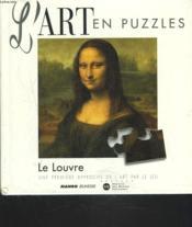 Art En Puzzle Le Louvre - Couverture - Format classique