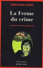 La ferme du crime - Intérieur - Format classique