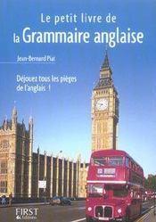 Le Petit Livre De - La Grammaire Anglaise - Intérieur - Format classique