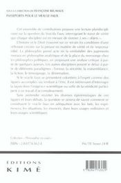 Passeports Pour Le Vrai/Le Faux - 4ème de couverture - Format classique