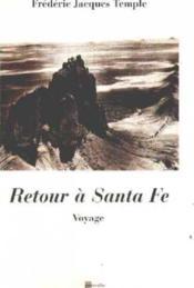 Retour à Santa Fé - Couverture - Format classique