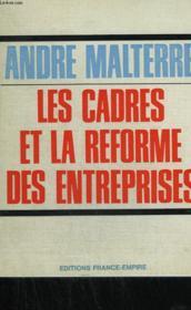 Les Cadres Et La Reforme Des Entreprises. - Couverture - Format classique