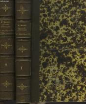 Notices Et Portraits Historiques Et Litteraires En 2 Tomes. - Couverture - Format classique