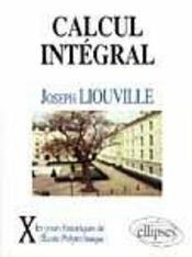 Calcul Integral (1847-49) - Intérieur - Format classique