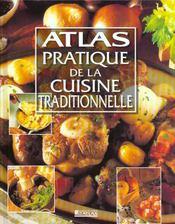 Atlas Pratique De La Cuisine Traditionnelle - Intérieur - Format classique