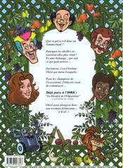 Apis et osiris. les abeilles - bd - 4ème de couverture - Format classique