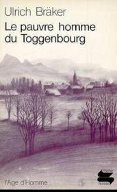 Pauvre Homme De Toggenbourg Ps49 - Couverture - Format classique