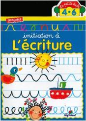 L'Ecriture - La Petite Ecole - Couverture - Format classique