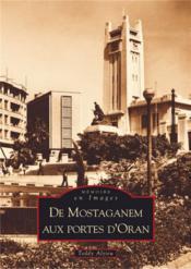 De Mostaganem aux portes d'Oran - Couverture - Format classique