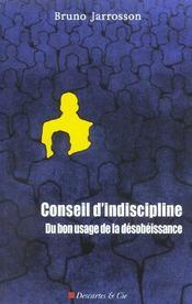 Conseil D Indiscipline - Intérieur - Format classique