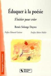 A l'ecole de la poesie - Couverture - Format classique