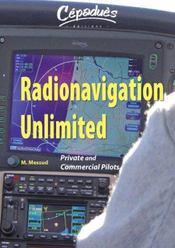 Radionavigation unlimited private and commercial pilots - cdrom (pc) en anglais - Intérieur - Format classique