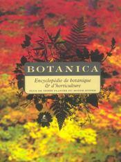 Botanica ; encyclopédie de botanique et d'horticulture ; plus de 10000 plantes du monde entier - Intérieur - Format classique