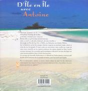 D'Ile En Ile Avec Antoine - 4ème de couverture - Format classique