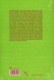 Lumieres, N 8/2006. Foucault Et Les Lumieres - 4ème de couverture - Format classique