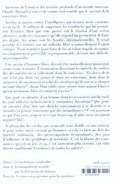 La Nouvelle Guerre Contre L'Intelligence, Tome 3 - 4ème de couverture - Format classique