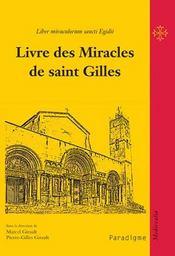 Livre des miracles de saint Gilles - Intérieur - Format classique