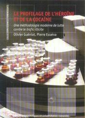Profilage de l'heroine et de la cocaine.methodologie moderne lutte contre trafic - Intérieur - Format classique