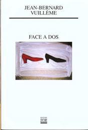 Face A Dos - Intérieur - Format classique