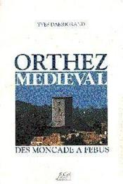 Orthez medieval - Couverture - Format classique