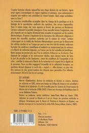 Bioethique: Avis De Tempetes - 4ème de couverture - Format classique
