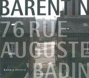Barentin ; 76, rue Auguste Badin - Couverture - Format classique