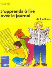 Apprends Lire Avec Le Journal - Intérieur - Format classique