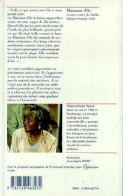 Manman D'Lo Et Autres Contes Des Antilles - 4ème de couverture - Format classique