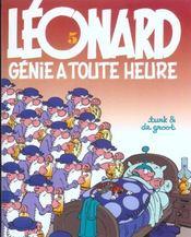 Léonard t.5 ; génie à toute heure - Intérieur - Format classique