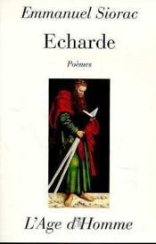 L'Echarde - Couverture - Format classique