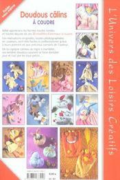 Doudous câlins à coudre - 4ème de couverture - Format classique