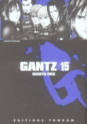 Gantz -tome 15 - Couverture - Format classique
